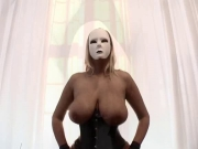Dominas in harness and nylons – Ginormous boobs and pumped pussy