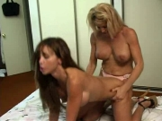 Girly-girl Strap-on Cougars