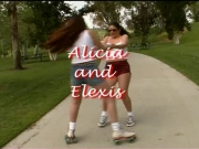 2 Tastey Girly-girl Girlfriends, Alicia and Elexis