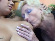 Red-hot dame nail two mature lesbians at once