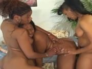 Sizzling Black Sapphic Threesome