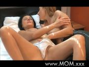 MOTHER Buxomy wives attempt girly-girl sex
