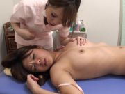 Chinese girl/girl ejaculation massage