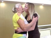 Old (72y) and Youthful (29y) Lesbians