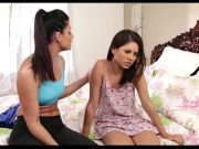 Lesbian Step-Mom Entices Young Teen Girl