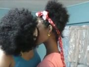 Ebony Power Lezzies – Kiss and Licking