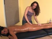 Sapphic Lube Rubdown – With a Oops (Fart Slip) – Cireman