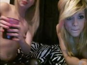 2 Uber-cute Teen Lesbos Long Webcam Show