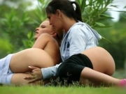 Monica Succulent And Eve Angel – Fitness -FDP-