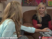 GirlfriendsFilms Julia Ann tempts Youthful Lesbo Tenant