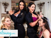 Angela Milky Turns This Bachelorette Soiree Into A Foursome
