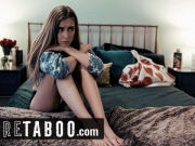 PURE TABOO Stepmom Offers Unsure Teenager to Girly-girl Boss
